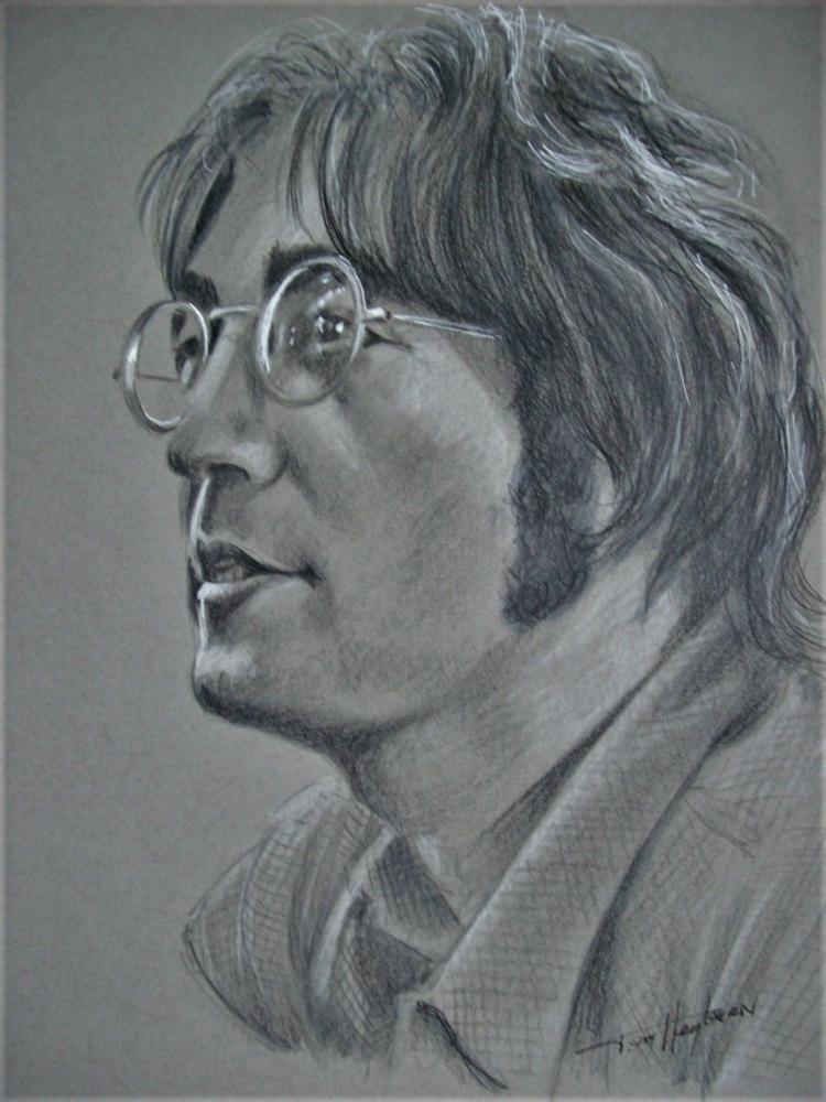 John Lennon por Tom-Heyburn